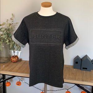 Hunter Embossed T Shirt Medium new
